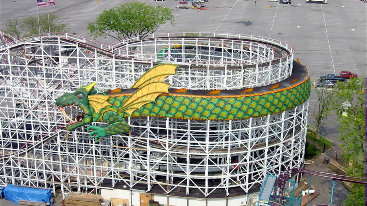 Image result for dragon coaster playland full ride
