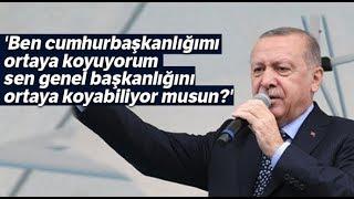 Cumhurbaşkanı Erdoğan, Külliye'ye Giden CHP'li İddialarına İzmir'den Cevap Verdi