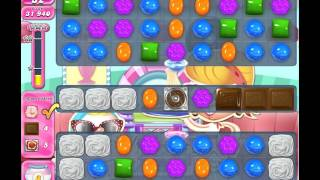 Candy Crush Level 1454 (no boosters, 19 moves left)