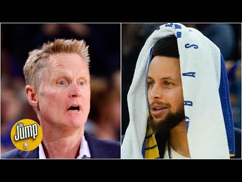 Reacting to Steve Kerr's comments about Steph Curry coming back this season   The Jump