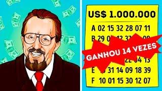O Homem Que Ganhou 14 Vezes na Loteria Revela Seu Segredo Para O Mundo