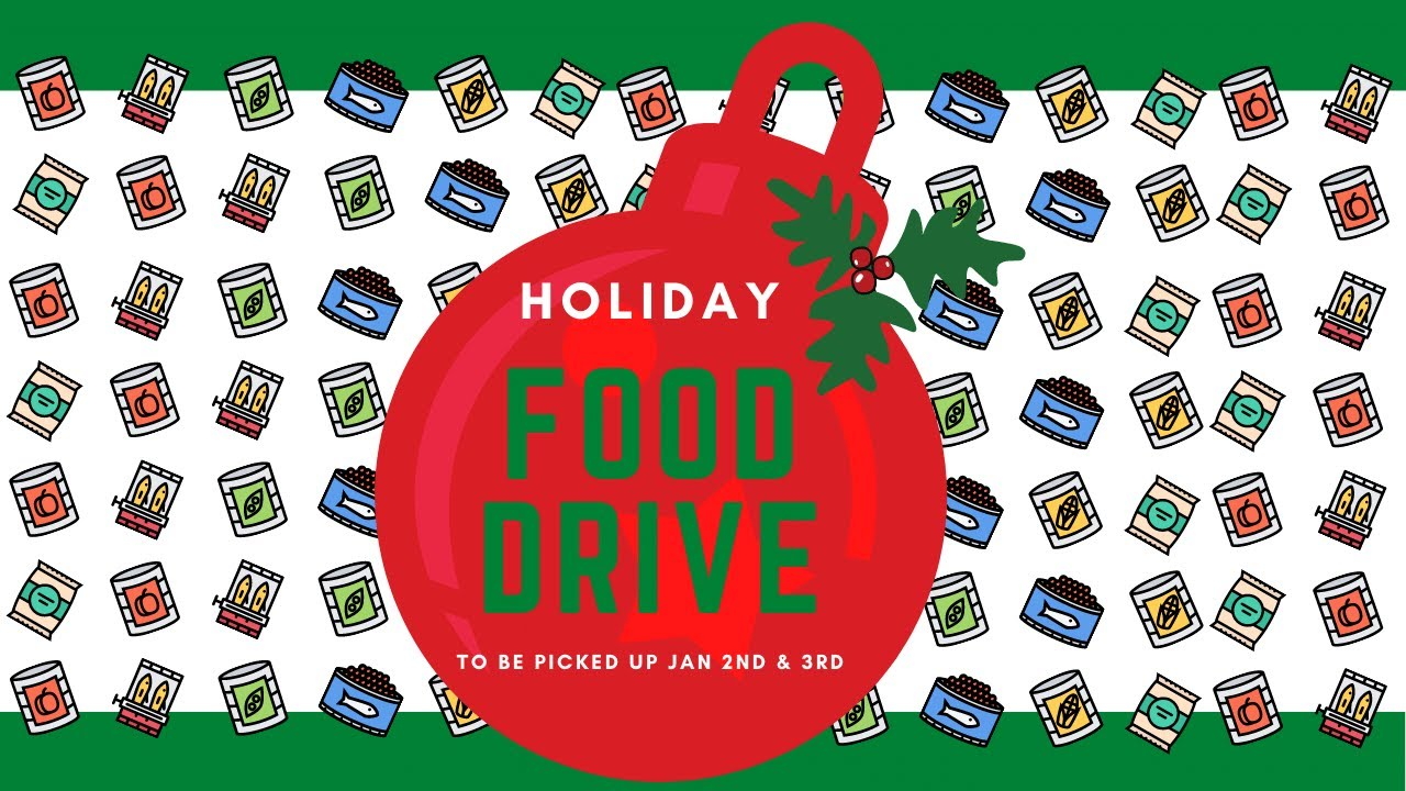 NW Seattle Holiday Food Drive Benefitting the Bitter Lake Food Bank!