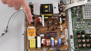 Samsung TV Won't Turn On & Has No Power & No Standby Light - Samsung LCD TV Troubleshooting Help
