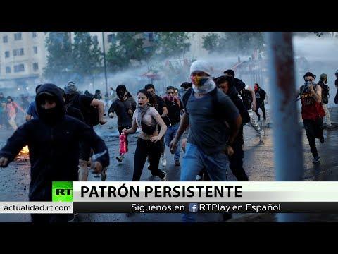 Chile: Policía Usa Lacrimógenos Y Cañones De Agua Para Dispersar Protestas