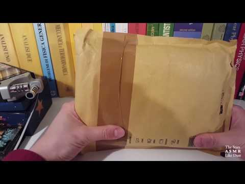[ASMR ITA+ENG] Book Unboxing #2 / Parlo di Libri   Show & Tell, Whispering, Tapping, Crinkles, Etc.