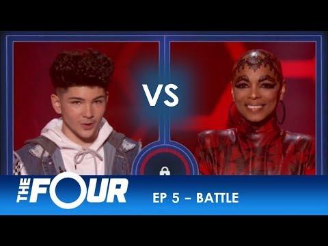 Dylan Jacob vs Sharaya J: Rap Battle Turns Into a Vocal STREET FIGHT!   S2E5   The Four