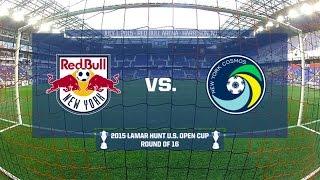 Livestream: 2015 Lamar Hunt U.S. Open Cup - Round of 16: New York Red Bulls vs. New York Cosmos