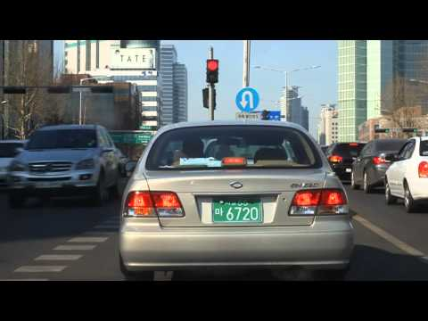 Driving around Seoul in the daytime and at night
