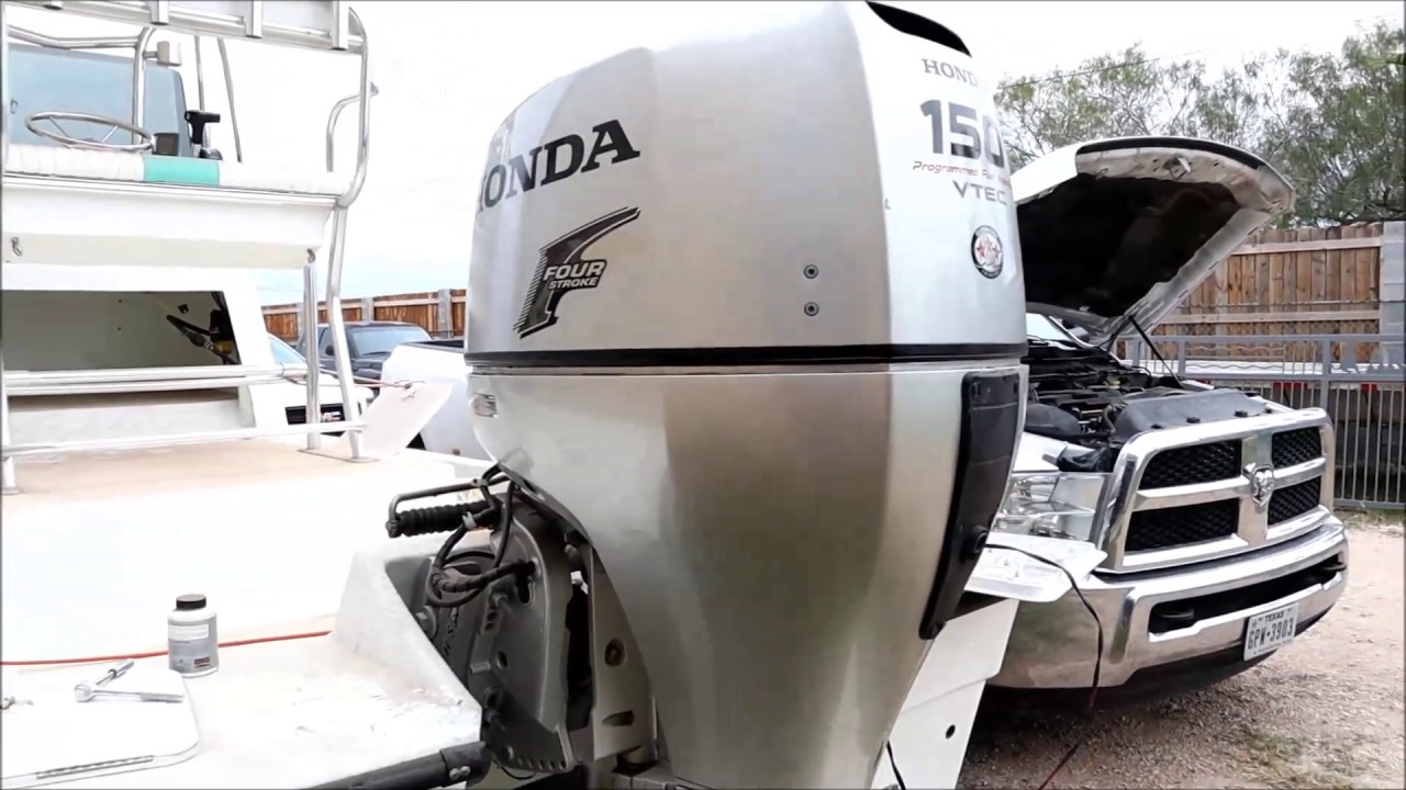 How to Change Thermostats on 2013 150 HP Honda 4-Stroke Outboard Motor