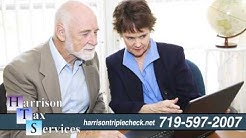 Harrison Tax Services | Tax Preparation, Payroll & Bookkeeping Services in Colorado Springs, CO