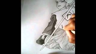 How to Draw Toshiro Hitsugaya (full body)