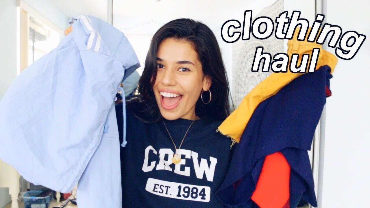 new year, new clothes: 2018 CLOTHING HAUL (try on) | Ava Jules