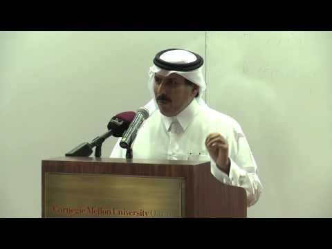 Dean's Lecture Series: H.E. Sheikh Abdulla Bin Saoud Al-Thani