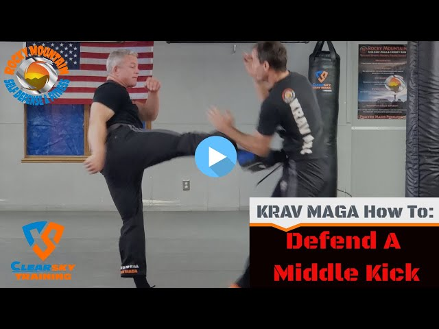 Defending A Middle Front Kick | How Does Jason Get Kicked In The Face???