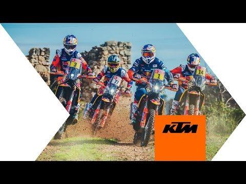 Els paratges de La Serra, Torregrossa, Mollerussa i Sidamon escenari de l'espot de KTM pel Dakar 2019