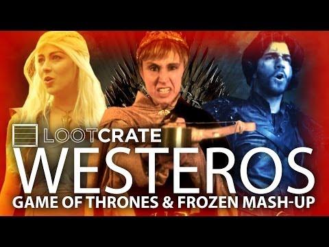 Game of Thrones Parody of Frozen's