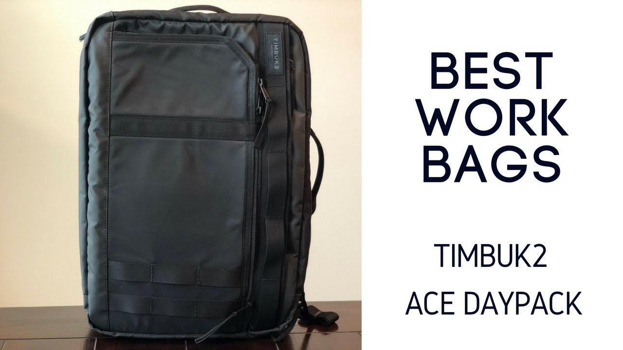 9499e3e5480 Best Work Bags  Timbuk2 Ace Review - YouTube