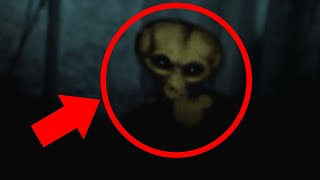 10 Scary Things Caught On Camera : ALIENS
