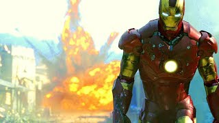 Iron Man vs Terrorists Gulmira Fight Scene Movie CLIP HD