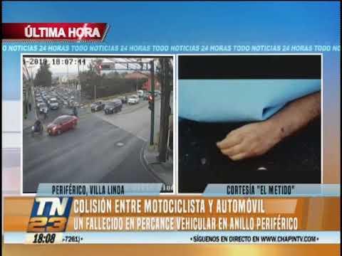 Accidente de tránsito en Anillo Periférico deja una persona fallecida