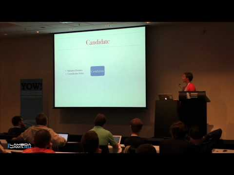 YOW! Lambda Jam 2014 - RAFT: Implementing Distributed Consensus with Erlang - Tim McGilchrist