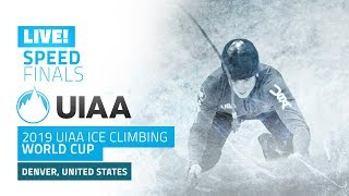 Denver, USA l Speed Finals l 2019 UIAA Ice Climbing World Cup