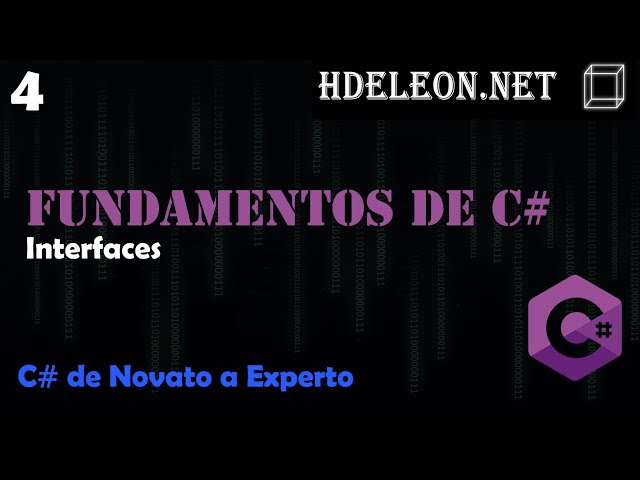 4.- Interfaces | Curso de fundamentos de C#