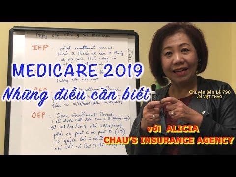 MC VIỆT THẢO- CBL(790)- MEDICARE 2019- NHỮNG ĐIỀU CẦN BIẾT Với ALICIA CHAU - January 9, 2019