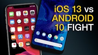 Android 10 vs. iOS 13 - From the Android Expert! [Android Q]
