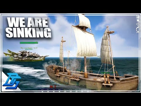 SCHOONER VS SHIP OF THE DAMNED, GHOST SHIP ATTACK! - Atlas