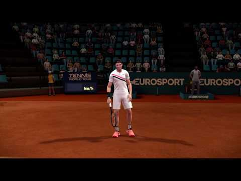 Tennis World Tour Online Gameplay PS4 ( Update 1.04 )