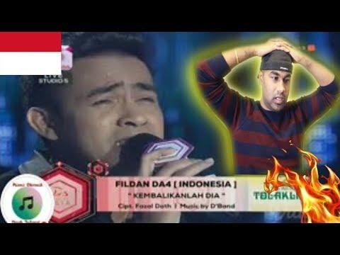 DA Asia 3: FILDAN DA4, Indonesia - Kembalikanlah Dia | INDIAN REACTION TO INDONESIAN VIDEO