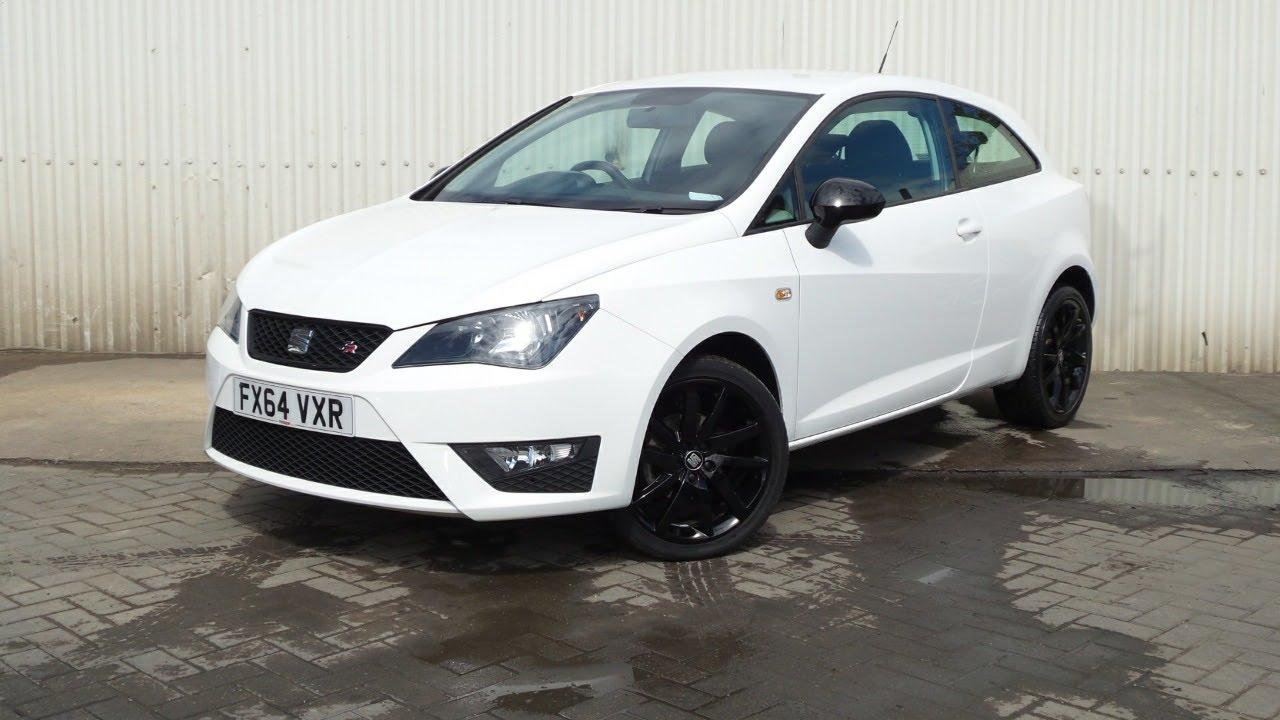 Bardzo dobra 2014 64 Seat Ibiza 1.2 Tsi Fr 3dr In White - YouTube YW53