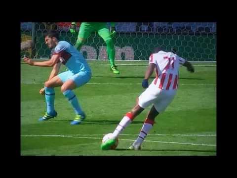 Mark Hughes & Slaven Bilic post-match interviews Stoke City 2 West Ham 1