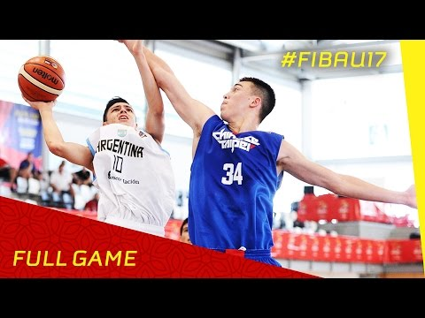 Argentina v Chinese Taipei - CL 13-14 - Full Game - FIBA U17 World Championship 2016