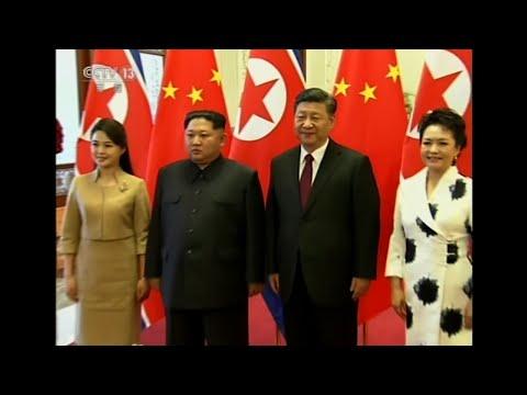 Raw: North Korea's Kim Jong Un Visits China's Xi