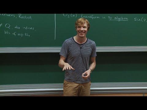 Balt van REES - 1/2 Chiral algebras