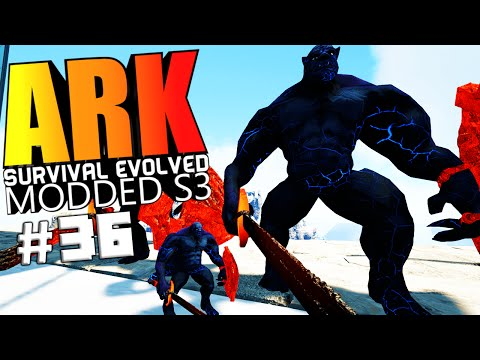 ARK Survival Evolved - INDOMINUS REX MOD ORC, ORC NEMESIS VS WARDEN Modded #36 (ARK Mods Gameplay)