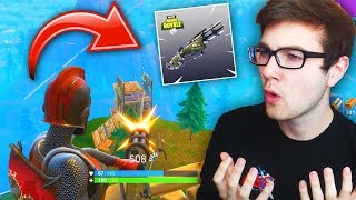 IS THE NEW MINIGUN WEAPON WORTH IT? (Fortnite Battle Royale)