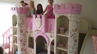 Girls Princess Room Princess Room Decor Girl Furniture Princess Theme Room