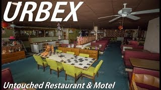 ABANDONED Untouched Restaurant & Motel With EVERYTHING Still Inside !