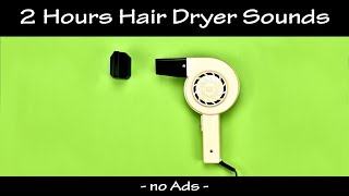 Soothing Blow Dryer Sounds to Fall Asleep | ASMR | Hair Dryer Sound Compilation 25