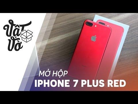 Vật Vờ| Mở hộp iPhone 7 Plus đỏ: trên ảnh đẹp hơn