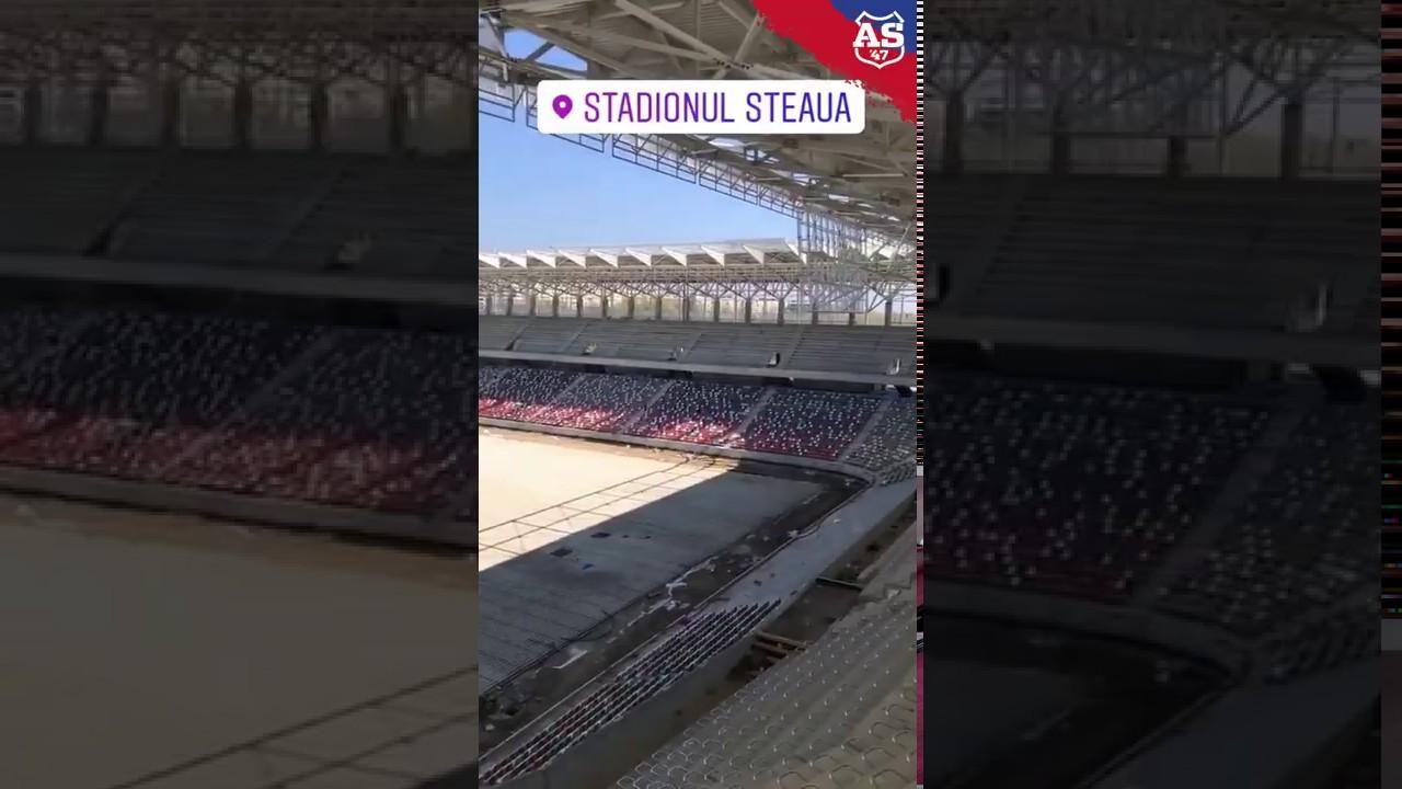 Stadionul STEAUA - 3 aprilie 2020