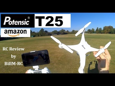 Potensic T25 review - GPS Drone with 9-axis Gyro & 1080P HD camera