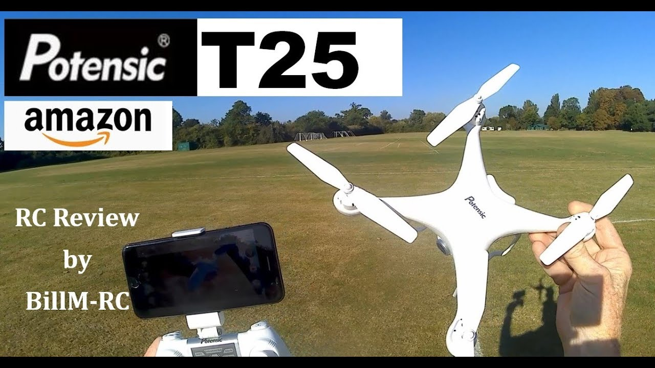Download Potensic T25 review - GPS Drone with 9-axis Gyro & 1080P HD camera