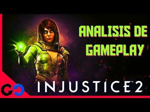 Injustice 2 . Enchantress Analisis de Gameplay!! // Que tipo de habilidades Tiene este Personaje??