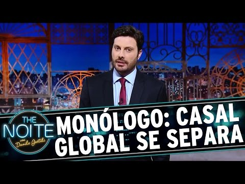 The Noite (31/08/16) - Monólogo: William Bonner e Fátima Bernardes se separam