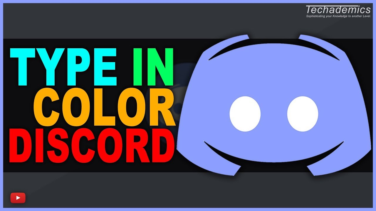 How To Type In Color On Discord  Discord Syntax Codes