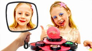 Download Настя и Стейси играют с косметикой для девочек Mp3 and Videos